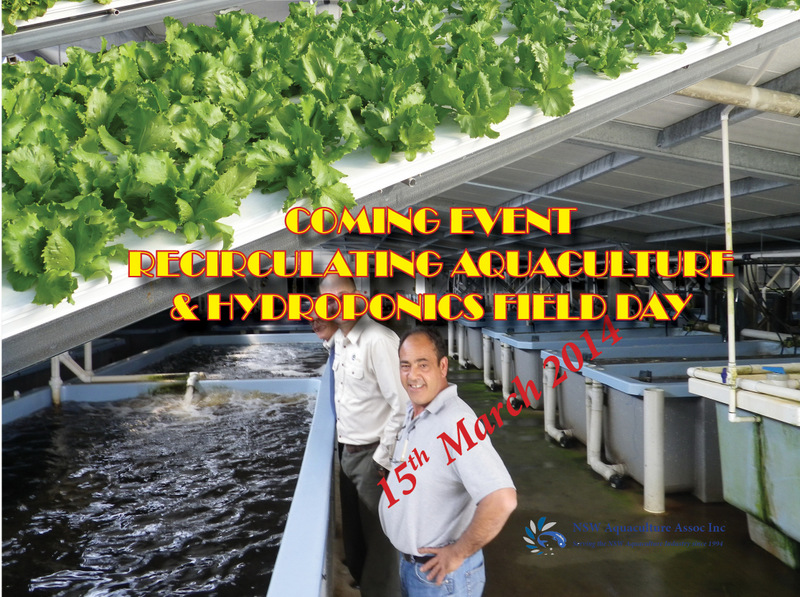 Hydroponic & Recirculating Aquaculture Field Day. All Welcome