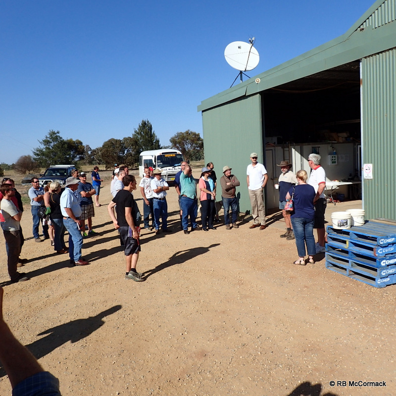 Attendants arriving at Silverwater Native Fish
