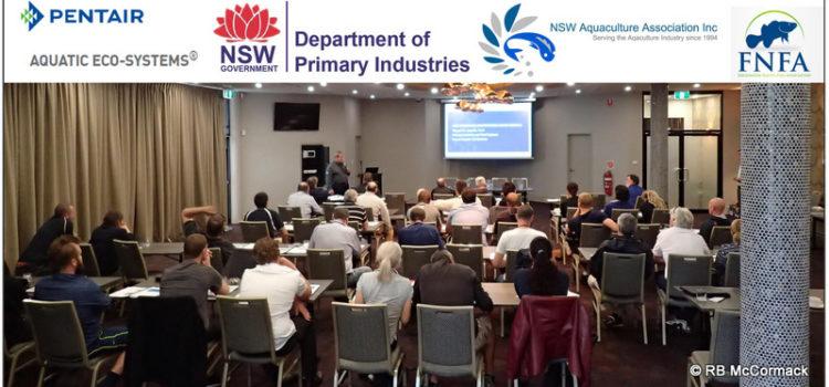 Dr Tom Losordo explaining the latest developments in RAS technology